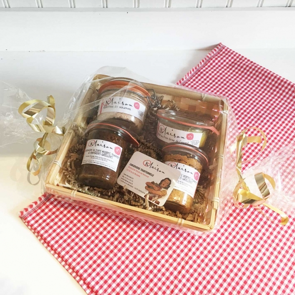 "Gift boxes Coffret \""Les Tartinables\\"""
