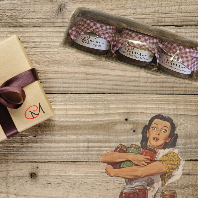 "Gift boxes Coffret \""Country\\"""