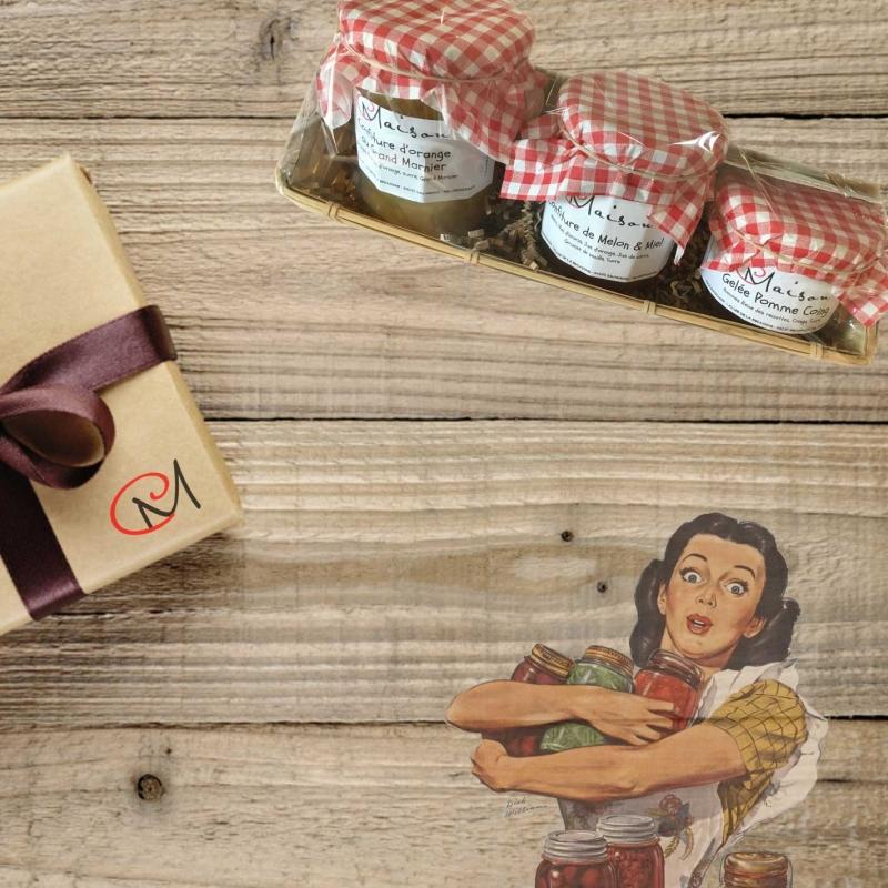"Gift boxes Coffret \\""Gourmandise\\"""