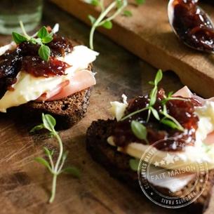 Conserves de légumes Confiture d'oignons