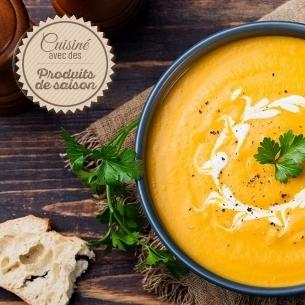 Les soupes Velouté de Potimarron