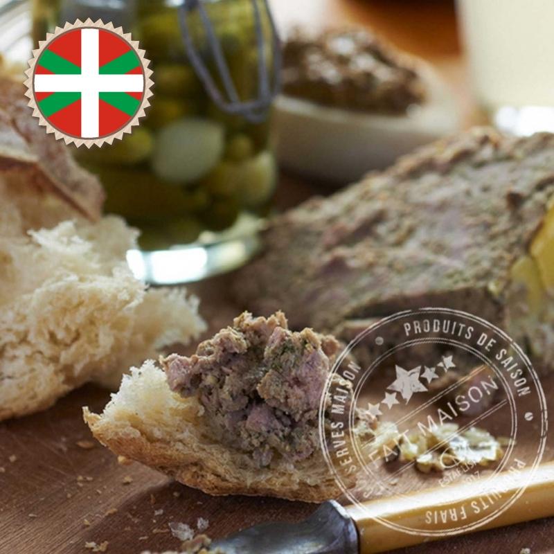 Pâtés et Terrines Pâté de porc Basque