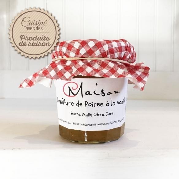 JAMS Pears jam with vanilla