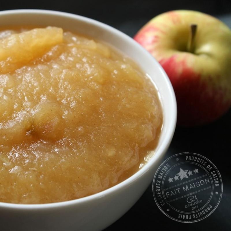 Conserves de fruits Compote Pommes Vanille