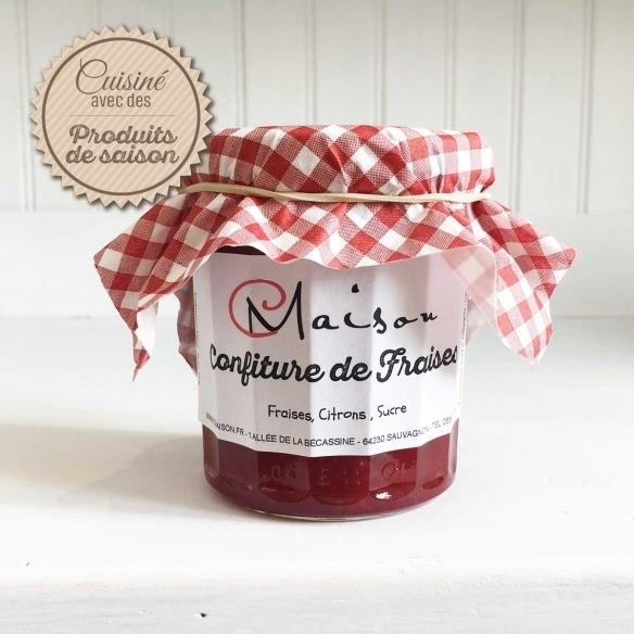 JAMS Strawberry jam