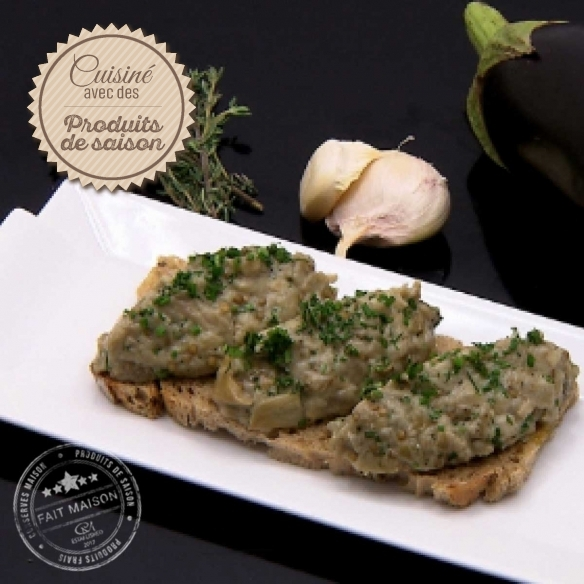 CMaison The spreadable Aubergines caviar
