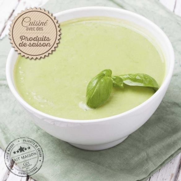 Les soupes Velouté de Courgettes