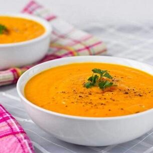 CMaison Les soupes Velouté de Carotte, Lait de Coco et Curcuma